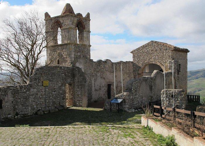 The scenic ruins of Polizzi's oldest church, La Commenda