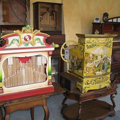 Due strumenti presenti nel Museo