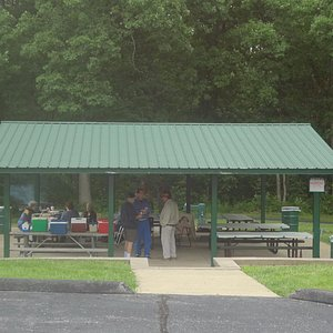 Quail Ridge Park Picnic Shelter with Convenient Parking. Lovely Wooded Area Behind The Walking P