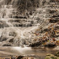 The Cascade in fall.
