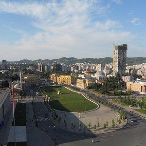 Skanderbeg Square by morning
