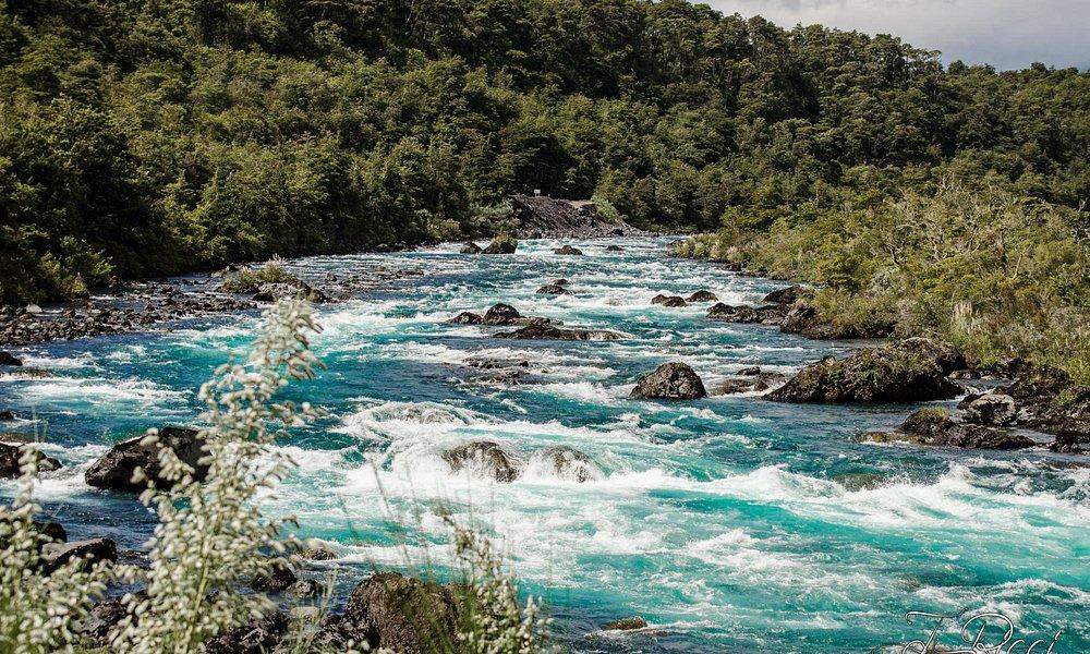 Río Petrohué, Ensenada