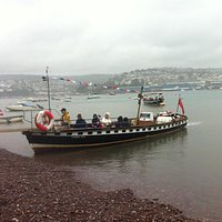 Ferry at Shaldon Beach