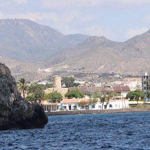 Torre de Santa Isabel viewed from the sea