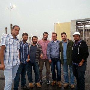 Jouri mall team of construction