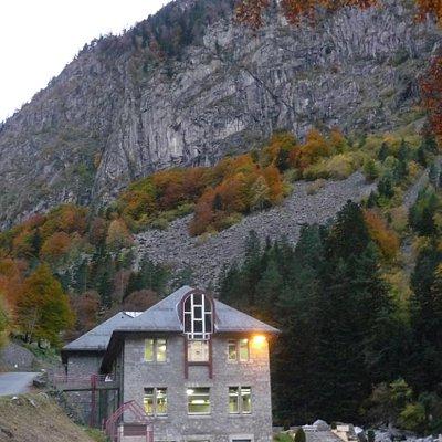 Thermes des Griffons, Cauterets (Hautes-Pyrénées, Languedoc-Roussillon-Midi-Pyrénées), France.