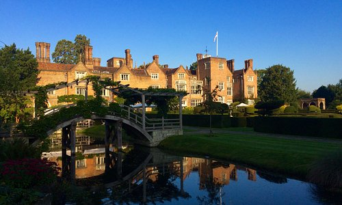 Great Fosters - looking across the moat