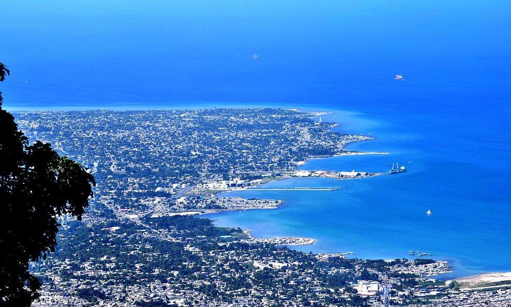 Haiti from above.