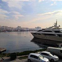 professional yacht pier