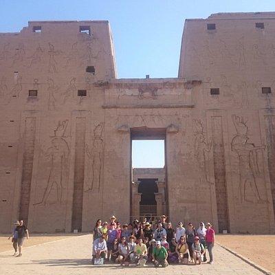 Templo de Edfu - Tour Egipto Maravilloso 2015