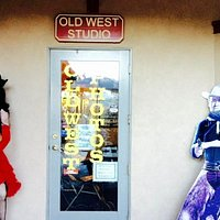 Old West Studio entrance (is at the end/corner of the plaza)