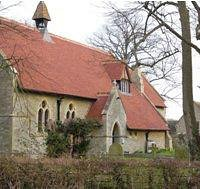 St Mary's church in Westcott
