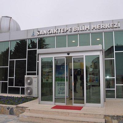 Bilim Merkezi girişi