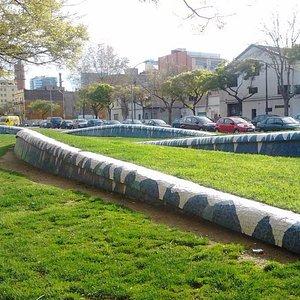 декоративные элементы в парке