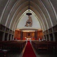 Imagen del interior de la Iglesia del Convento de Santo Domingo de Bogotá