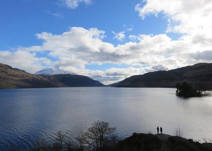 View from An Ceann Mor over Loch Lomond