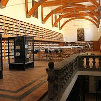 Sala Lettura della Biblioteca