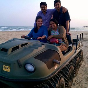 Posing wid friends on the mean machine!