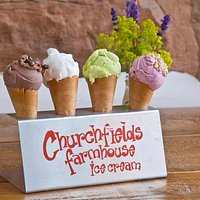 Ice cream made right here on our farm in Droitwich Spa.