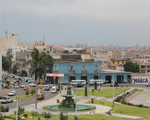 Callao as seen from the fortress