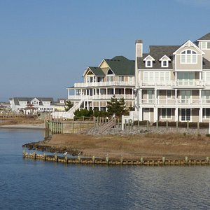 Home at the entrance of Hatteras Island