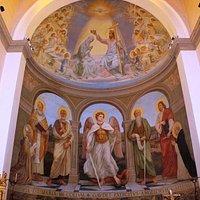 ciclo affreschi di Carosi e Costantini