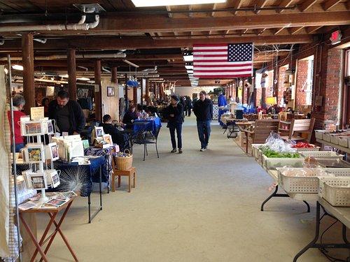 Inside the Saco River Market