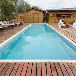 The Outside Pool at the Delta Eco Spa