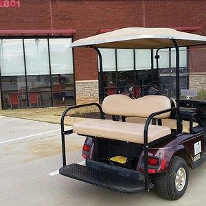 Golf cart city.