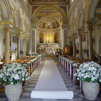 Базилика Св.Антония перед венчанием, Сорренто