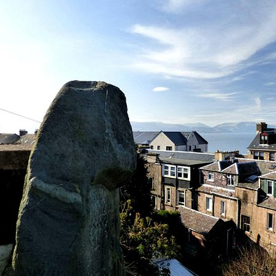Granny Kempock Stone - Behind Castle Gardens, Gourock : Courtesy of Alastair Morris