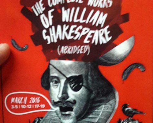 O programa Shakespeare que fui assitir