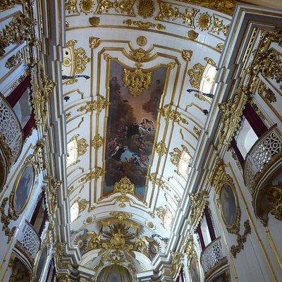 Ceiling of Igreja de Nossa Senhora do Monte de Carmo