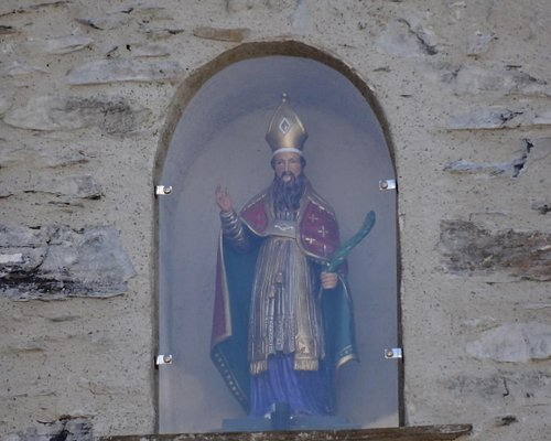 Église Saint-Saturnin, Lugagnan (Hautes-Pyrénées, Languedoc-Roussillon-Midi-Pyrénées, France.