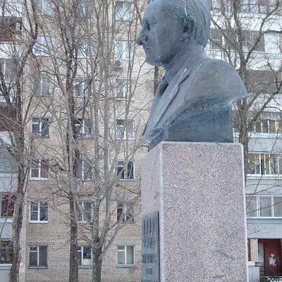 Бюст П.А.Журавлева