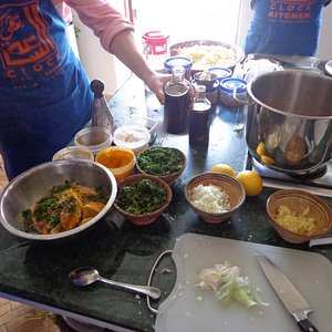 Making great Moroccan dishes