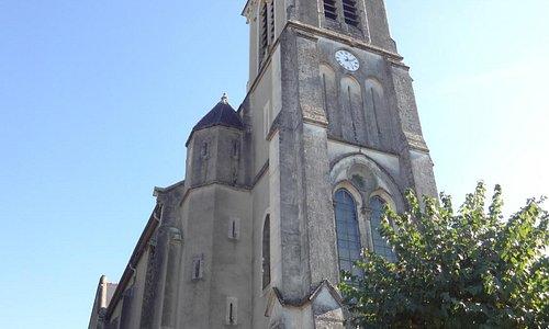 Église Notre-Dame de l'Assomption, Pouyferré (H-Pyrénées, Languedoc-Roussillon-Midi-Pyrénées) Fr