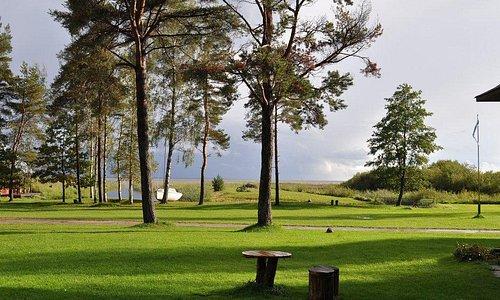 View from Veldemani Puhkemaja