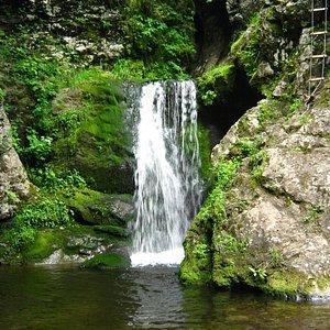Beautiful Wards Falls outside of Parrsboro, NS