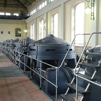 Sala dell'impianto idrovoro