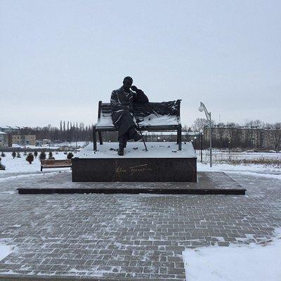 Памятник Ивану Бунину