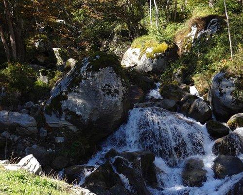 Cascade du Cerisey, Cauterets (Hautes-Pyrénées, Languedoc-Roussillon-Midi-Pyrénées), France.