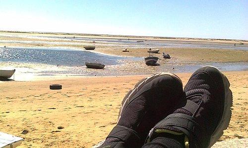 Playa desde el chiringuito