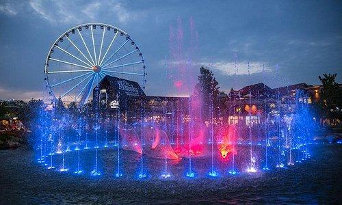 Island Show Fountain