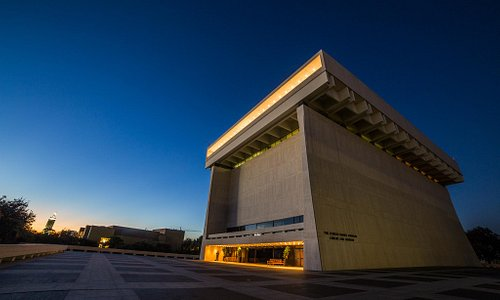 LBJ Presidential Library [Photo by Jay Godwin]