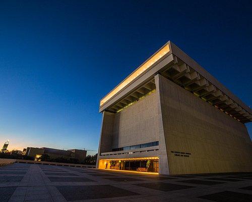 LBJ Presidential Library [Photo by Jay Godwin]