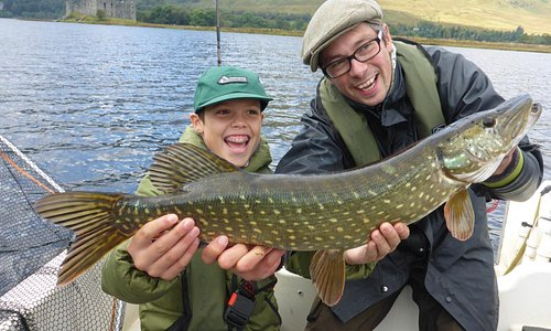 Pike fishing trips in Argyll