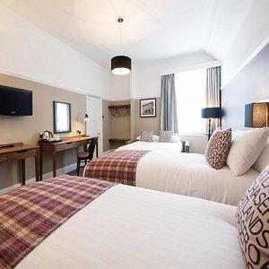 Innkeeper's Lodge Weybridge Family bedroom