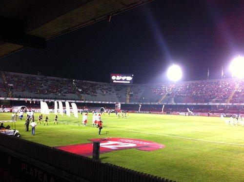 A punto de iniciar el partido Veracruz - Pachuca.