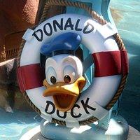 Donald's Boat, ToonTown, Disneyland, Anaheim, CA